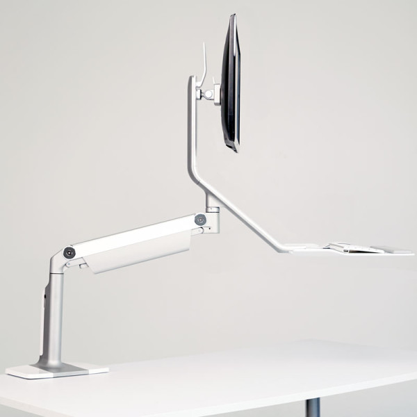 HUMANSCALE - Quick Stand Lite Height-Adjustable Workstation