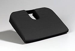 Front View Sacro Seat Wedge