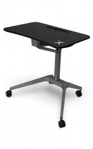 X-Table Mobile Height-Adjustable Desk