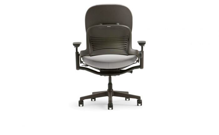 steelcase leather chair leap chairs black index