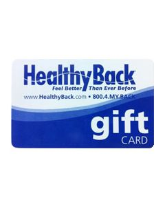 Healthy Back Gift Card