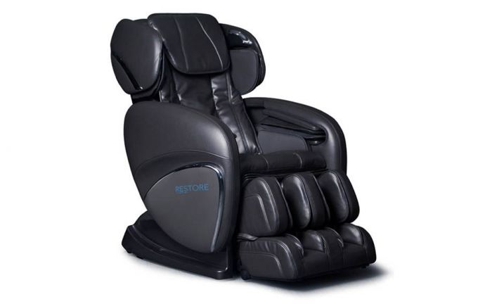 healthy back restore massage chair left angled view - Massaging Chair