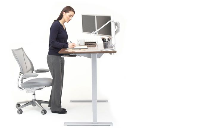 humanscale float desk