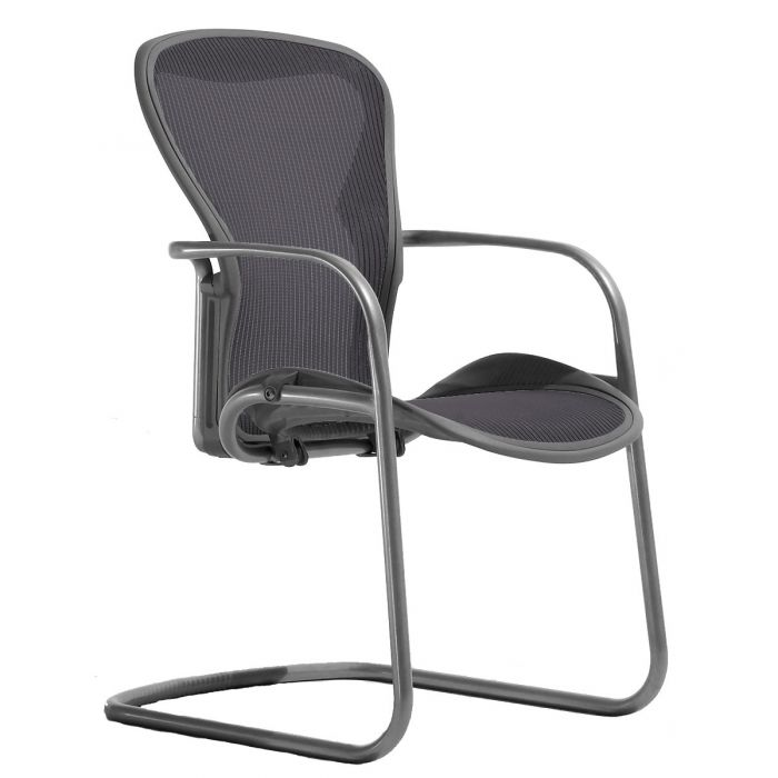 Office Side Chairs herman miller aeron side chair