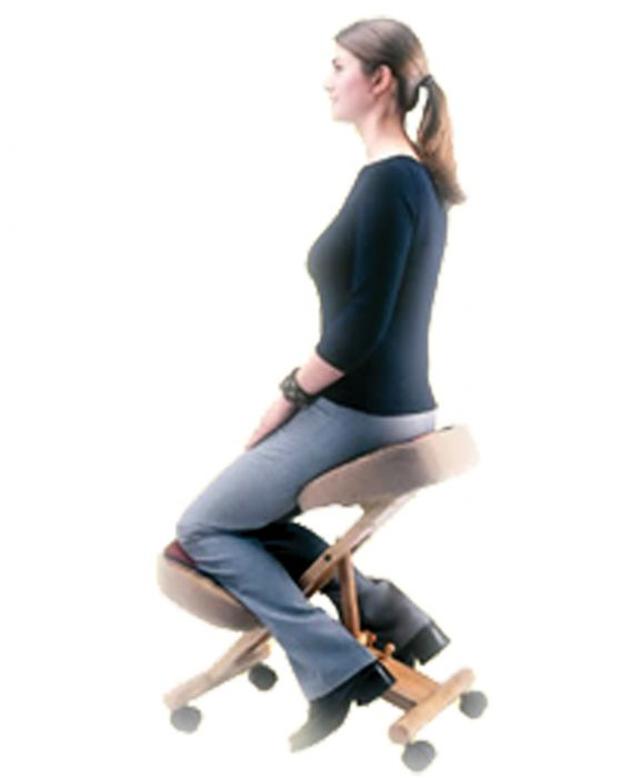 . Healthy Back Artisan Kneeling Chair with Infinite Angle
