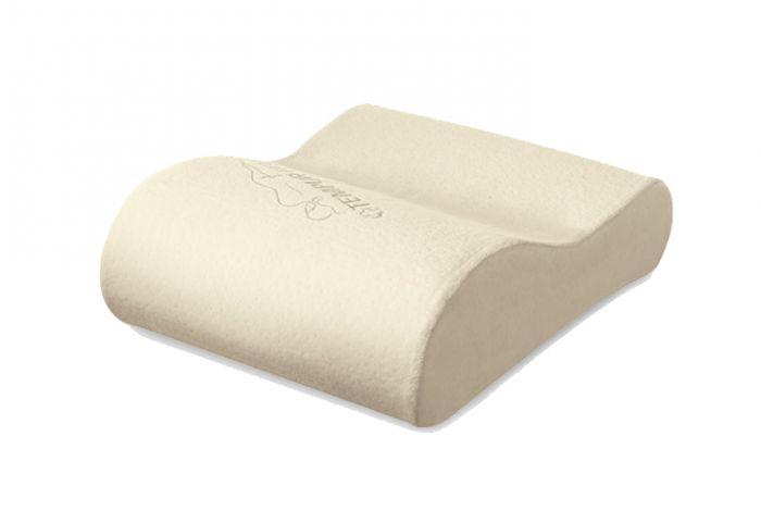 tempurpedic neck pillow travel front view - Temperpedic