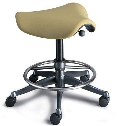 humanscale freedom saddle stool