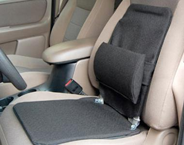 A lumbar support product for car seat