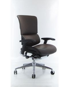Three quarter view Brown X4 Executive Chair